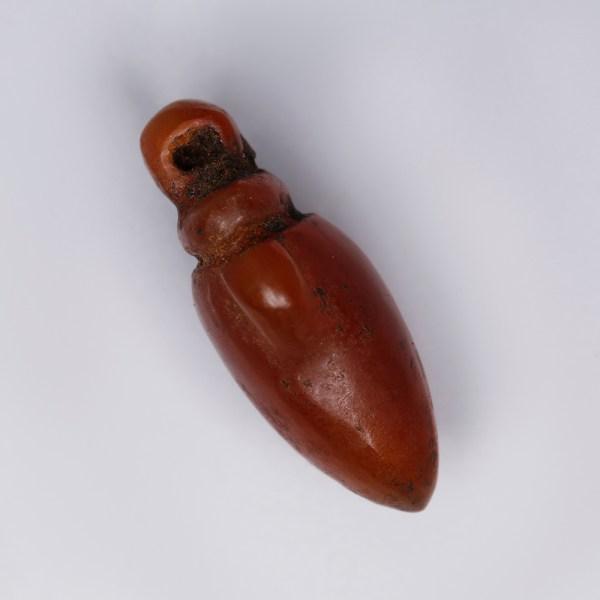 Ancient Egyptian Carnelian Heart Amulet