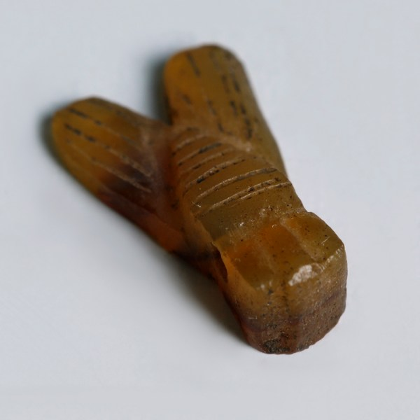 Ancient Egyptian Vibrant Fly Amulet