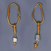 Matching Pair of Roman Earrings