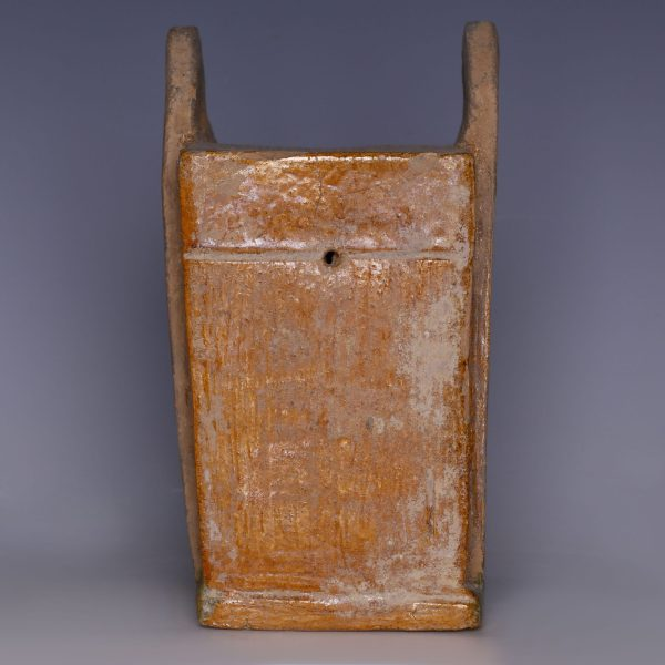 Ming Dynasty Glazed Miniature Chest