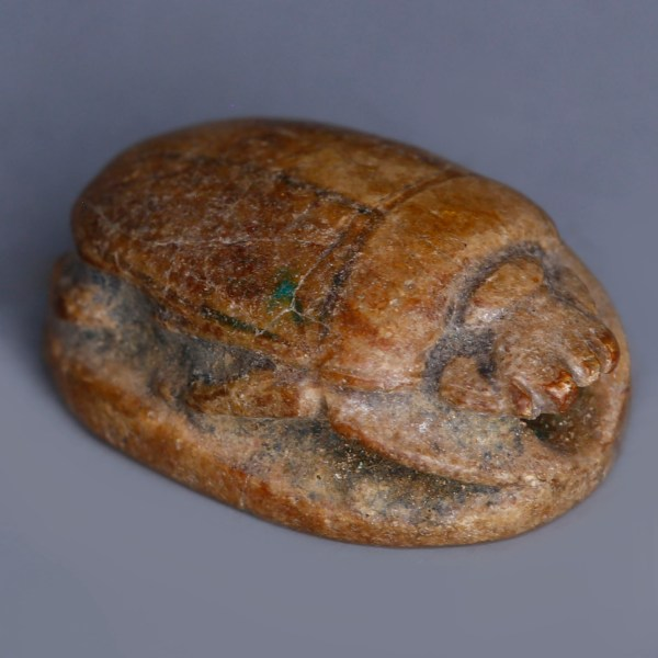 Canaanite Steatite Scarab of Hathor