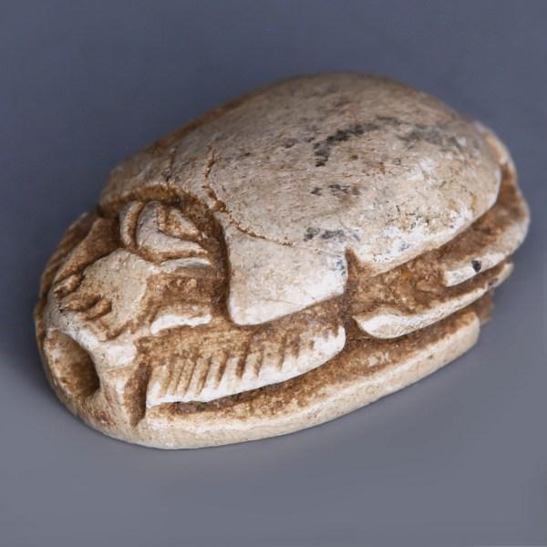 Egyptian Scarab dedicated to Amun-Ra