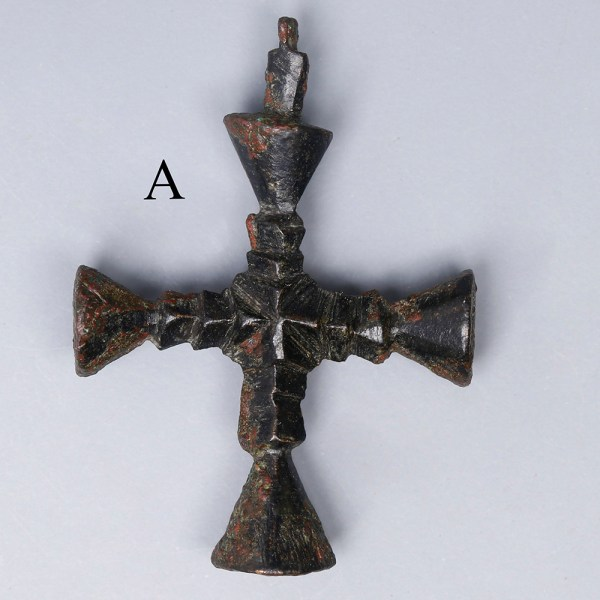 late roman bronze cross 2