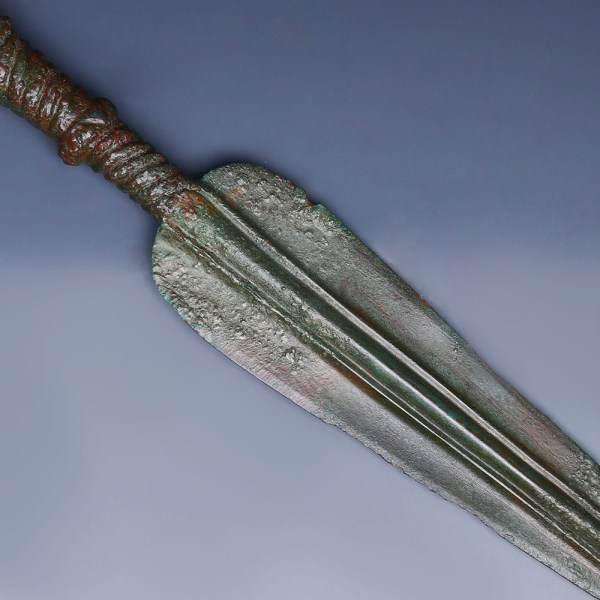 Luristan Spear's Blade with Rat Tail