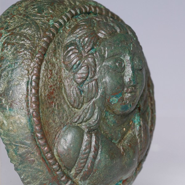 Roman Empire Repousse Boss with Deity