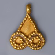 Near Eastern-Western Asiatic Gold Pendant
