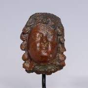 Greek Hellenistic Bronze Youth's Head