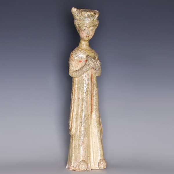 Tang Glazed Figurine of Court Lady