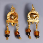 Matching Pair of Near Eastern Earrings