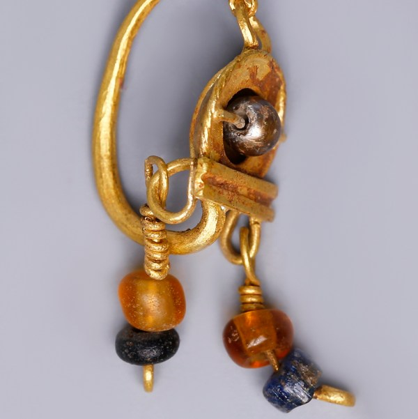Matching Pair of Near Eastern Earrings