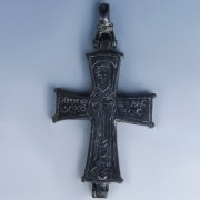 Byzantine Enkolpion Cross with Important Saints