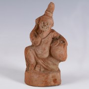 Romano-Egyptian Terracotta Statuette of Harpocrates