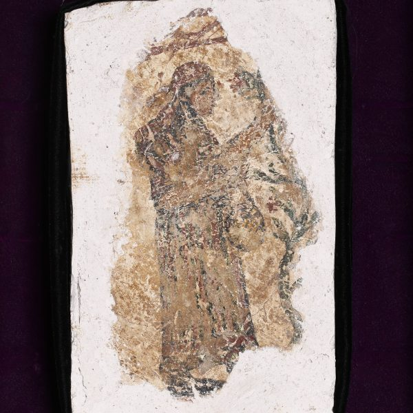 Roman Wall Painting of a Young Lady