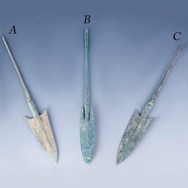 Selection of Fine Anatolian Arrowheads
