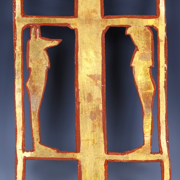 Ancient Egyptian Gilded Funerary Cartonnage