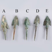 Selection of Anatolian Barbed Bronze Arrowheads