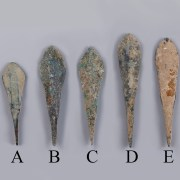 Selection of Anatolian Flat Arrowheads