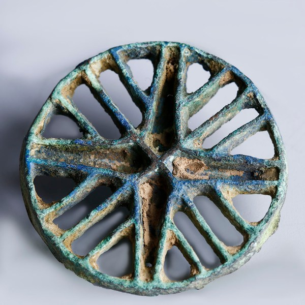 Bactrian Bronze Seal Stamp with Linear Pattern