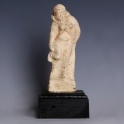 Greek Terracotta Statuette of Aphrodite Adjusting her Sandal