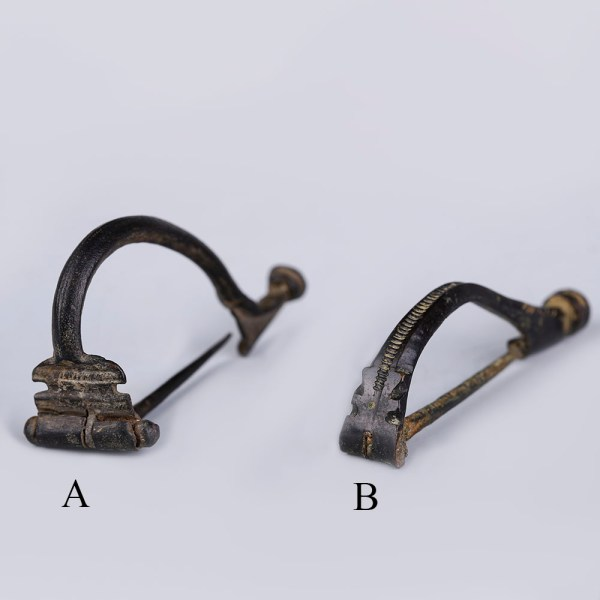 Selection of Fine Ancient Roman Bronze Bow Aucissa Brooches