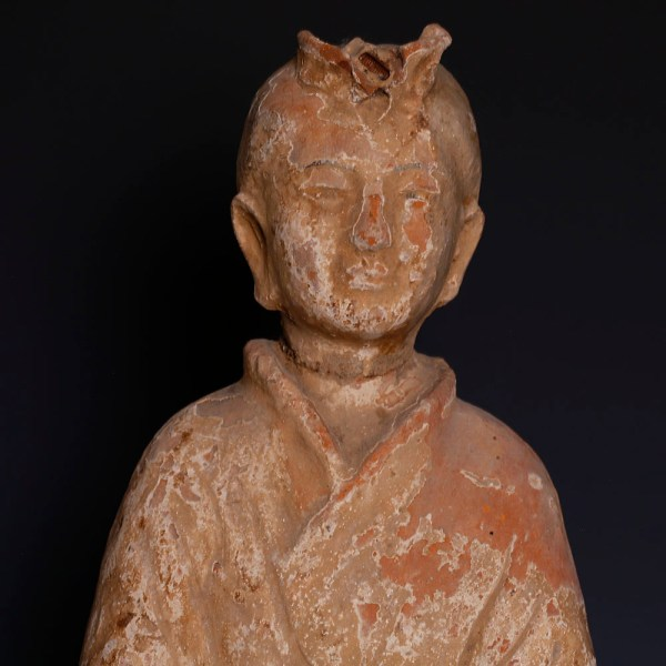 Chinese Han Dynasty Figure of Court Attendant