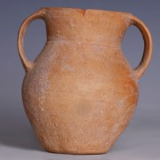 Chinese Qijia Culture Neolithic Squatted Amphora
