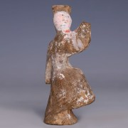 Han Dynasty Terracotta Court Entertainer