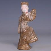 Han Dynasty Terracotta Court Entertainer