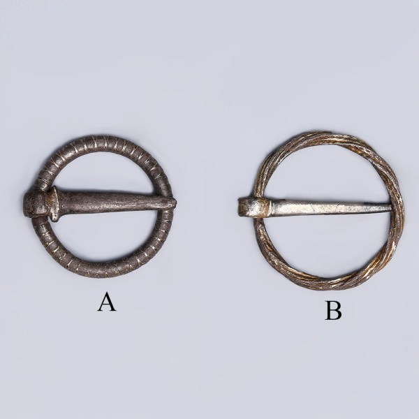 Selection of Late Medieval Silver Ring Brooches