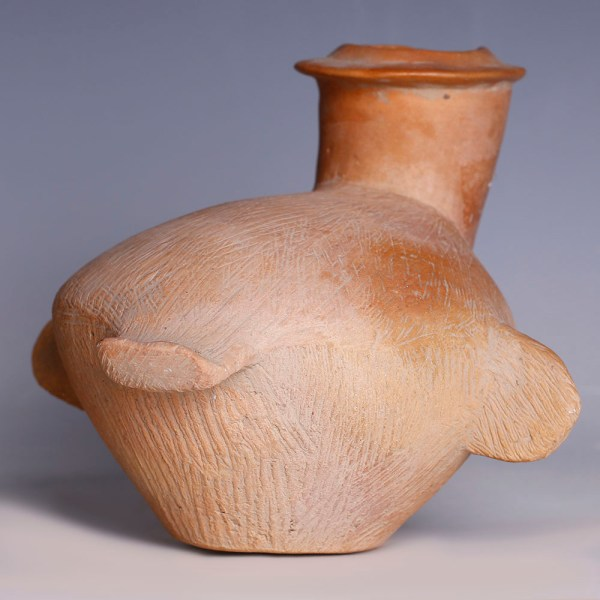 Neolithic Chinese Bird Vessel from the Qijia Culture
