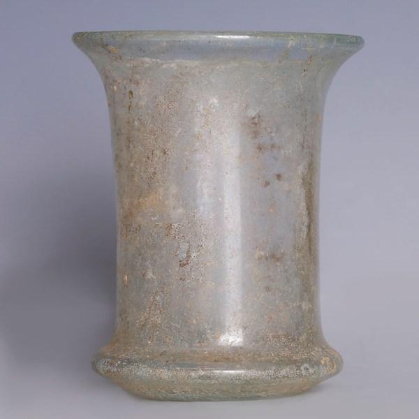 Roman Clear Glass Beaker