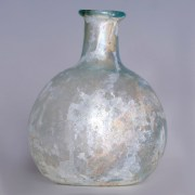 Roman Iridescent Globular Flask