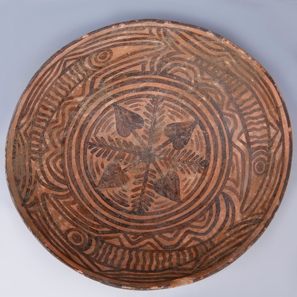 Superb Indus Valley Terracotta Bowl with Fish