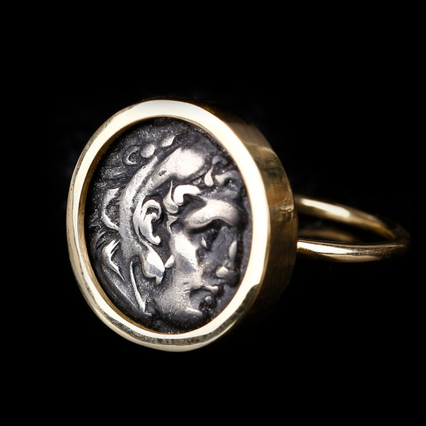Alexander the Great Drachm Ring