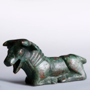 Archaic Greek Bronze Statuette of a Bull