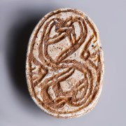 Egyptian Steatite Hyksos Period Scarab