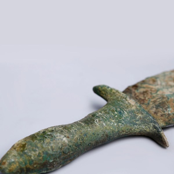 Elamite Bronze Leaf Shaped Dagger