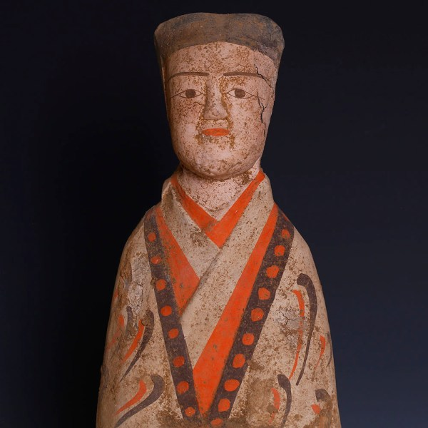 Exceptional Han Dynasty Court Attendant