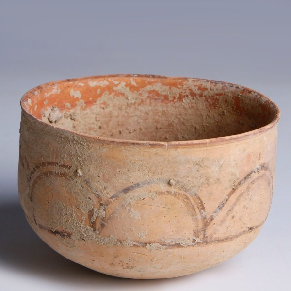 Indus Valley Painted Terracotta Bowl