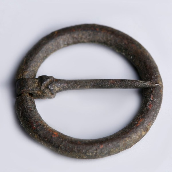 Medieval Bronze Annular Brooch