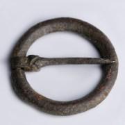 Medieval Bronze Annular Brooch