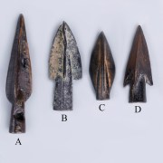 selection of anatolian bronze arrowheads
