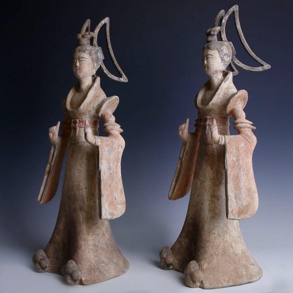 Tang Dynasty Pair of Dancers
