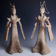 Tang Dynasty Pair of Dancers