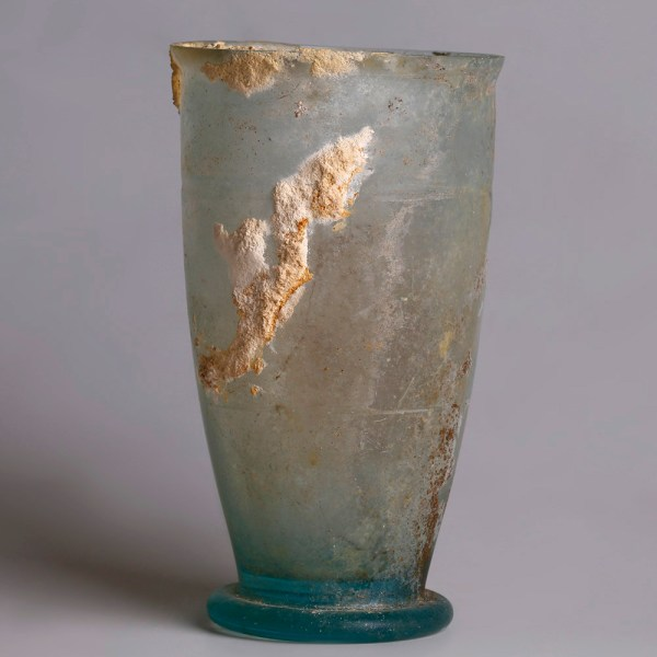 Ancient Roman Glass Beaker