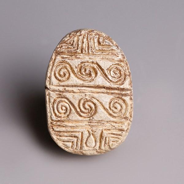Egyptian Steatite Hyksos Scarab