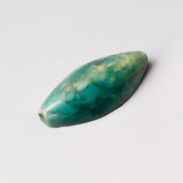 Egyptian Turquoise Glazed Faience Scaraboid