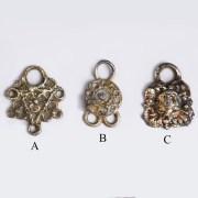 Fine Selection of Silver-Gilt Tudor Fasteners