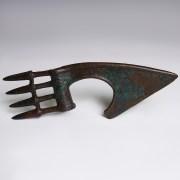 Luristan Bronze Spike-Butted Axe Head