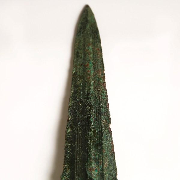 Luristan Bronze Sword with Detailed Grip